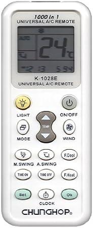 CHUNGHOP 各社共通1000種対応 日本語説明書付き エアコン用ユニバーサルマルチリモコン 自動検索機能も搭載!!-520012 K-1028E