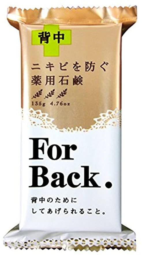 破滅的な被害者電気薬用石鹸ForBack 135g × 72個