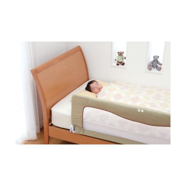 日本育児 ベッドフェンス SG ベージュ 18...の紹介画像8