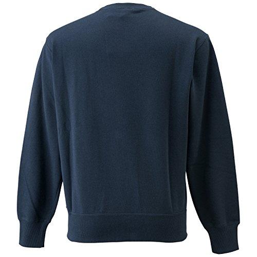 [チャンピオン] スクリプトロゴクルーネックスウェットシャツ ベーシック C3-H004 ネイビー 日本 L (日本サイズL相当)