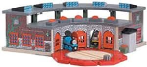 ラーニングカーブ きかんしゃトーマス 木製レールシリーズ デラックス操車場 FC-30126