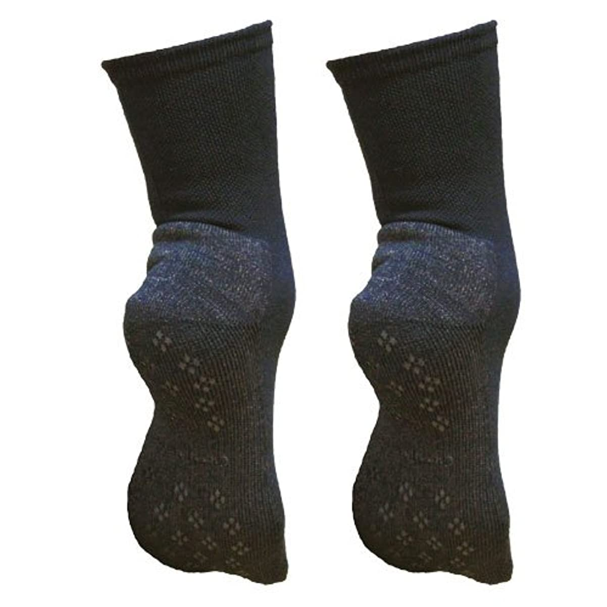 突き刺す可能嫉妬銅繊維靴下「足もとはいつも青春」パイルタイプ2足セット 靴底のあたたかさ重視