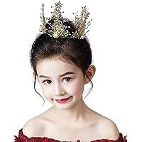 Tiara Kids Crown Headdress Princess Girl Crown Crystal Decorative Ornaments, Catwalk Accessories