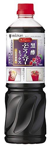 ミツカン ビネグイット黒酢ぶどう&ベリーミックス(6倍濃縮タイプ) 1000ml