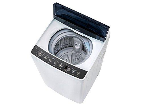 ハイアール 4.5kg 全自動洗濯機 ブラックHaier JW...
