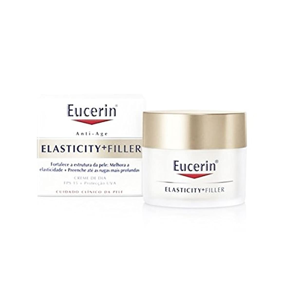 嫉妬本物接辞Eucerin Elasticity Filler Day Cream 50ml [並行輸入品]