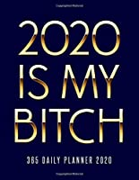 2020 Is My Bitch 365 Daily Planner 2020: Daily and Hourly Agenda Organizer Gag Notebook