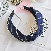 AKDSteel Women Girls Headband Top Knot Turban Headband Cross Bandage Scarf Hair Accessories 12#