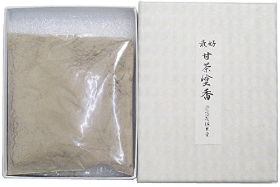 湿度侵入透過性淡路梅薫堂の塗香 最好甘茶塗香 30g ( ずこう ) 粉末 #503