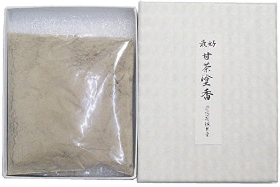 ひばり魅力的であることへのアピール談話淡路梅薫堂の塗香 最好甘茶塗香 30g ( ずこう ) 粉末 #503