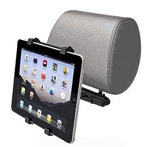 Apple IPAD 2 車載用スタンド 椅子後に固定スタンド クリップ付きタイプ