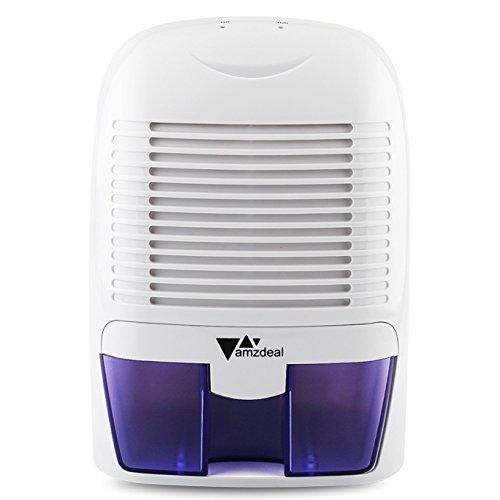 Amzdeal 除湿器 部屋干し除湿機 空気浄化機 除湿可能面積12.3畳-18.5畳(20-30㎡) カラッと爽快 1500ml