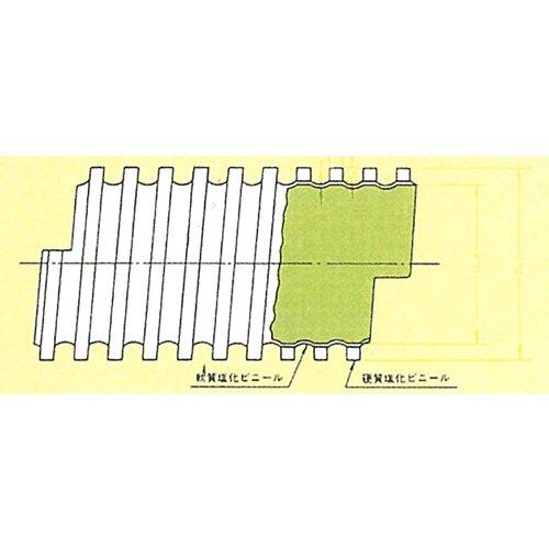 エアーダクトホースDT型 DT250 10m プラス・テク