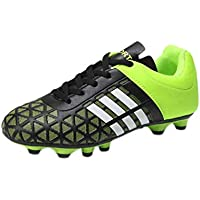 Fulision Boys and Girls' Fitness and Workout Rubber Sole Lacing Casual Shoes