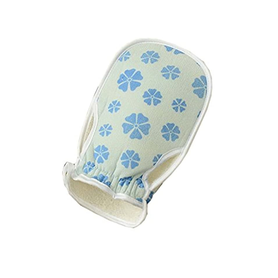 安西冷える冷えるスタイリッシュな入浴用品バストミットタオルボディウォッシュエクスフォリエイティンググローブ、#06