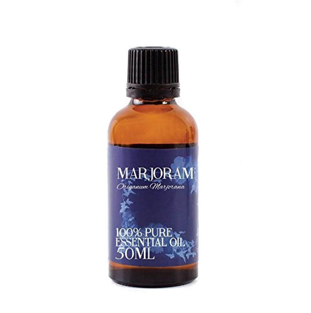 かなり縞模様の抽象化Mystic Moments | Marjoram Essential Oil - 50ml - 100% Pure
