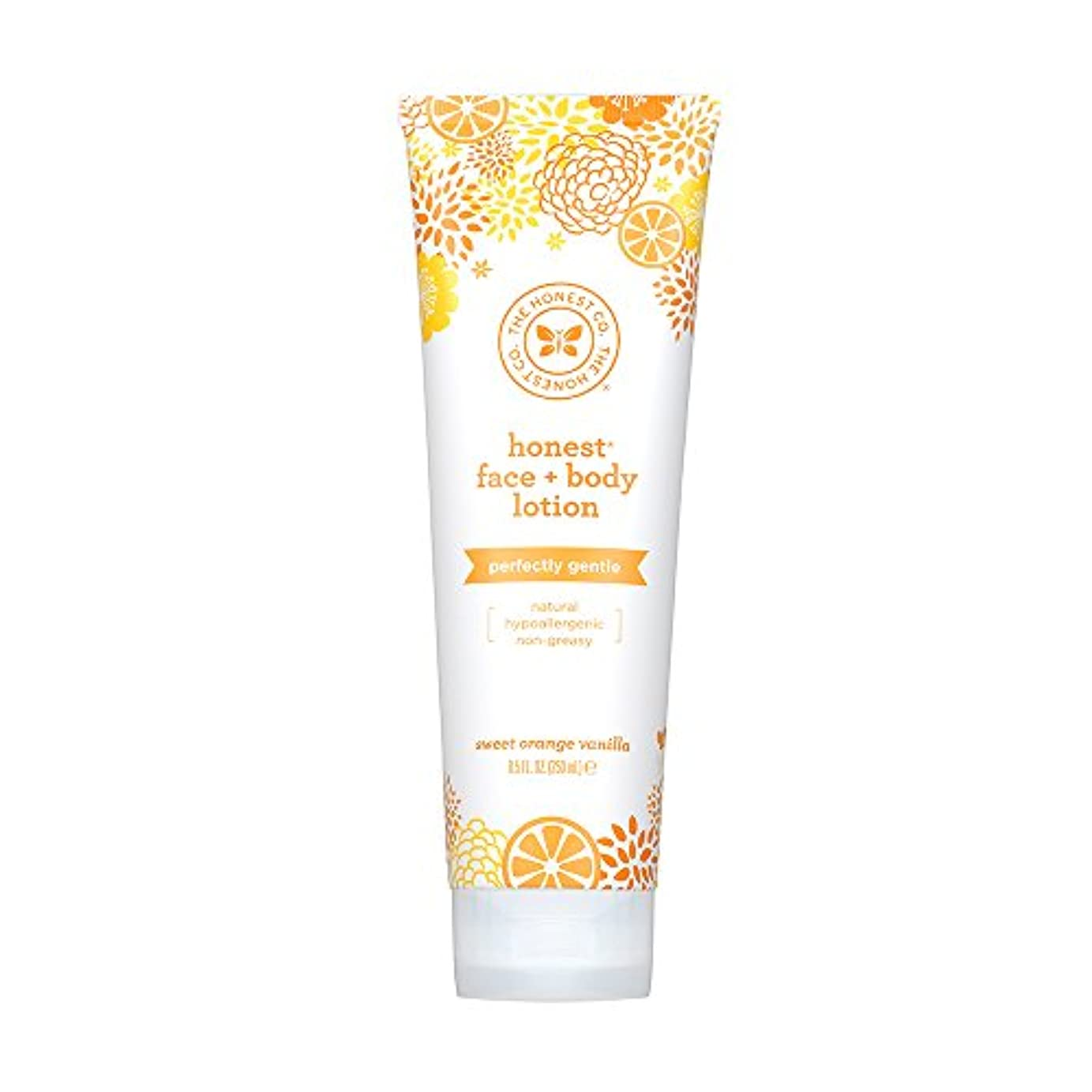 パステル従事した外側Honest Face and Body Lotion - 8.5 oz by The Honest Company