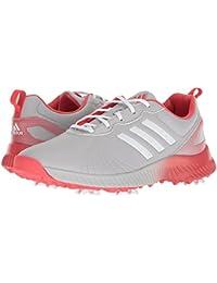 (アディダス) adidas レディースゴルフシューズ?靴 Response Bounce Grey Two/Footwear White/Real Coral 6.5 (23.5cm) M