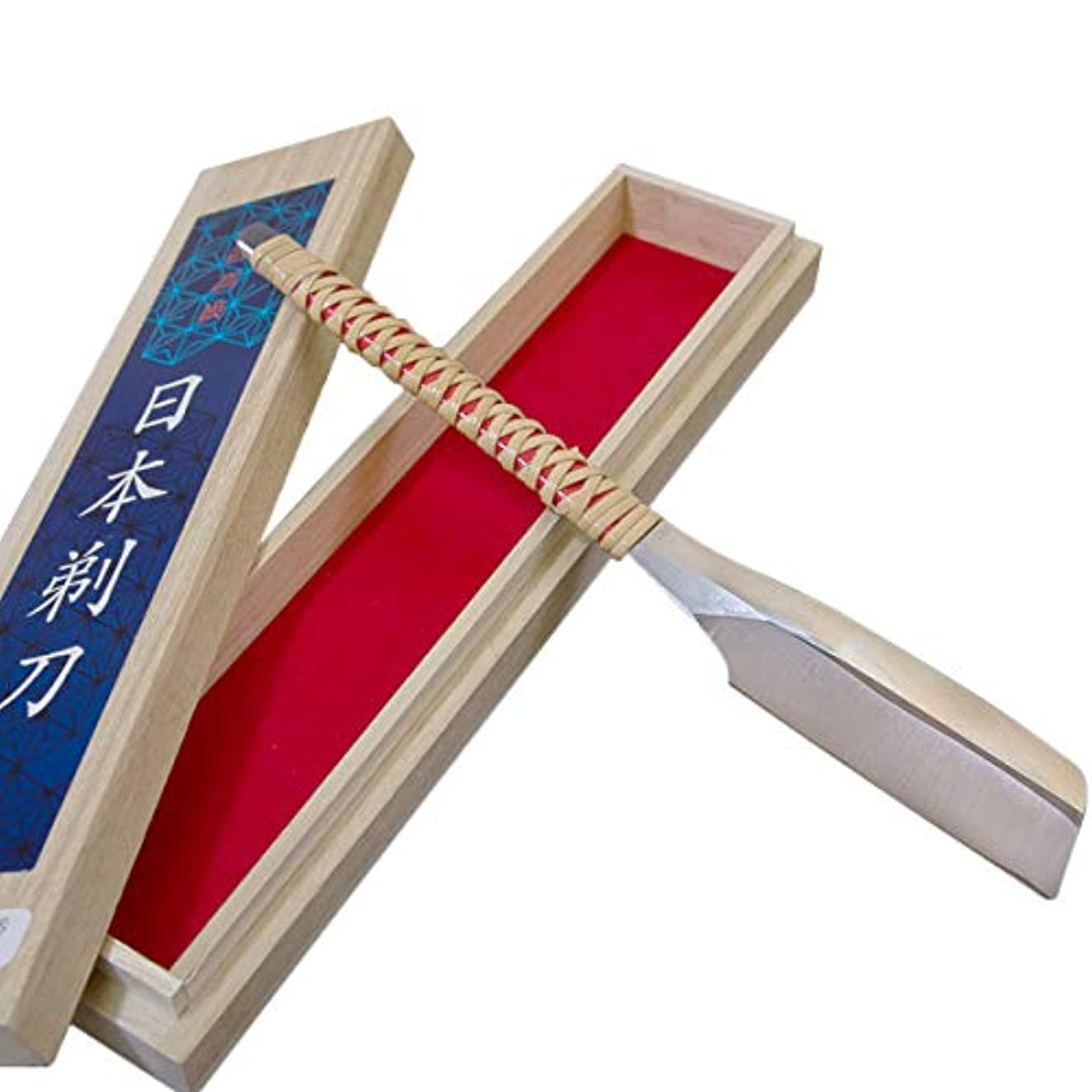 異常な間違いプレーヤー日本製 日本かみそり(剃刀 カミソリ) 桐箱 藤巻#12000 本刃付 床屋,理容室,舞妓さんに!