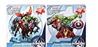 Avengers Shaped Jigsaw Puzzles – Set of 2 Varied Designs