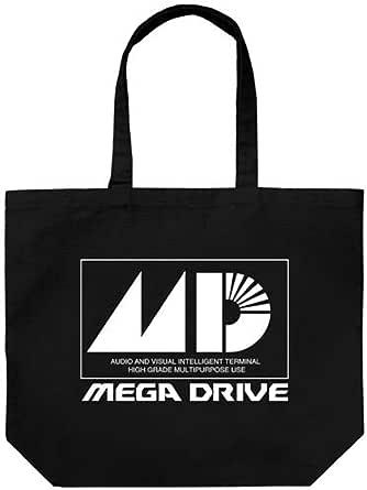 メガドライブ メガドライブ ラージトート ブラック 約縦40×横48×マチ15cm
