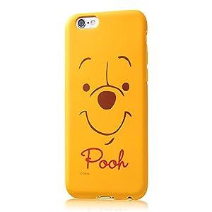 レイ・アウト iPhone6 / iPhone6s ケース ディズニー・クローズアップ・ソフトケース くまのプーさん RT-DP7H/PO
