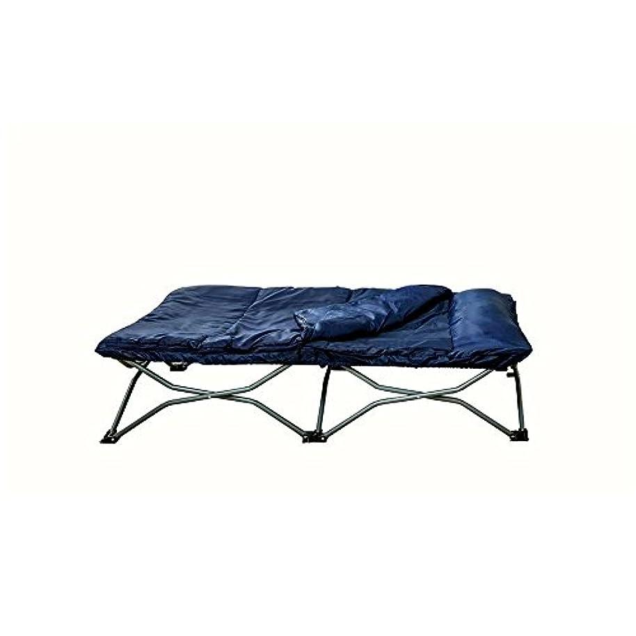 分子余分なキャンドルBADA shop キャンプ用コット 子供用 寝袋付き 折りたたみ式 ベッド 旅行 室内 屋外 キャリーバッグ 取り外し可能 枕 耐久性 防水 メタル 睡眠 テント ベッド 電子ブック