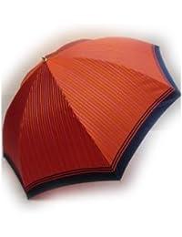 KitagawaSyouten[キタガワショウテン] 折りたたみ雨傘 レディース 雨傘 折畳傘 婦人 甲州産 先染 イエロー