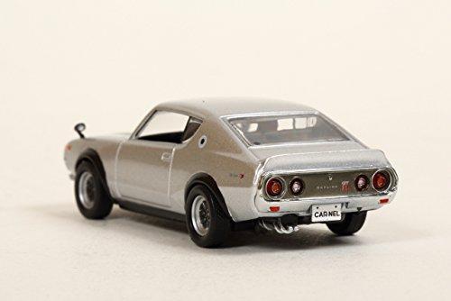 ヒコセブン CARNEL 1/64 日産 スカイライン GT-R KPGC110 Custom Version (Silver) 完成品