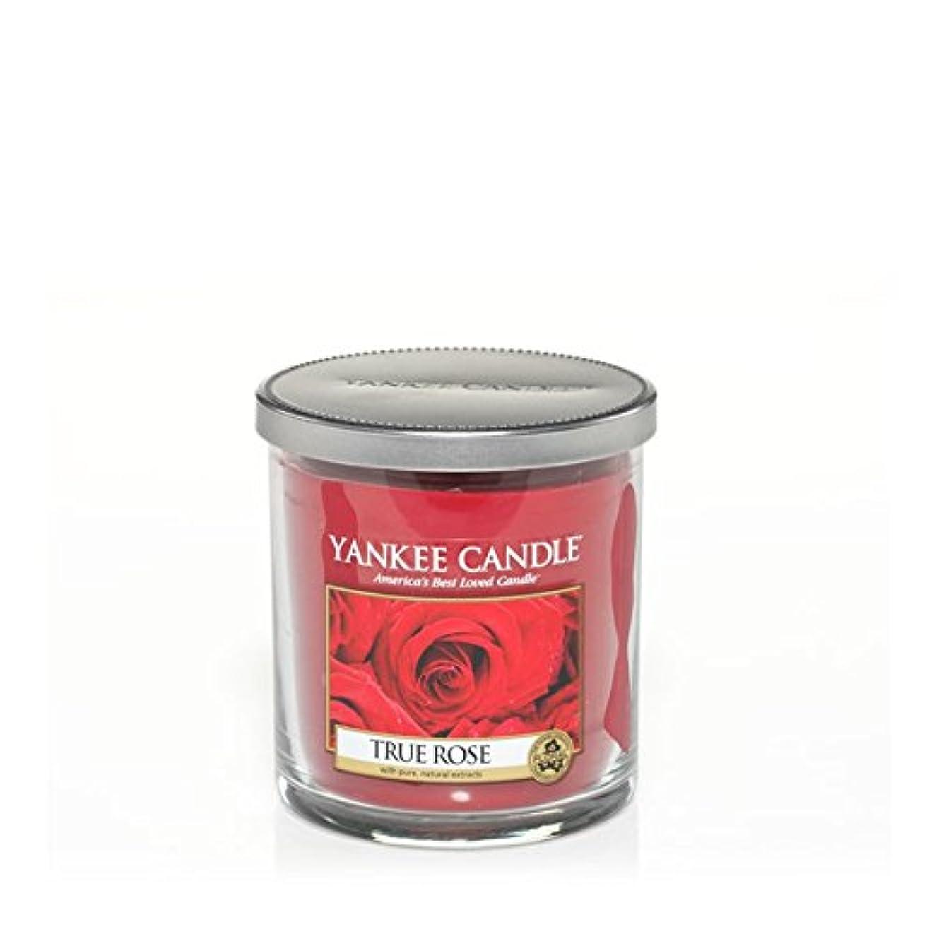 バズ慣性マウスピースYankee Candles Small Pillar Candle - True Rose (Pack of 6) - ヤンキーキャンドルの小さな柱キャンドル - 真のバラ (x6) [並行輸入品]