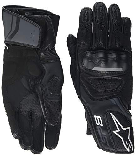 alpinestars(アルパインスターズ)バイクグローブ ブラック/ダークグレー (サイズ:M) SP-8レザーグローブ831...