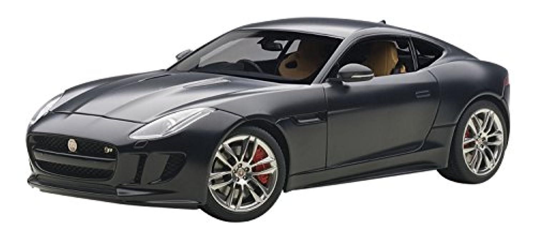 AUTOart 1/18 ジャガー Fタイプ R クーペ 2015 マット?ブラック 完成品