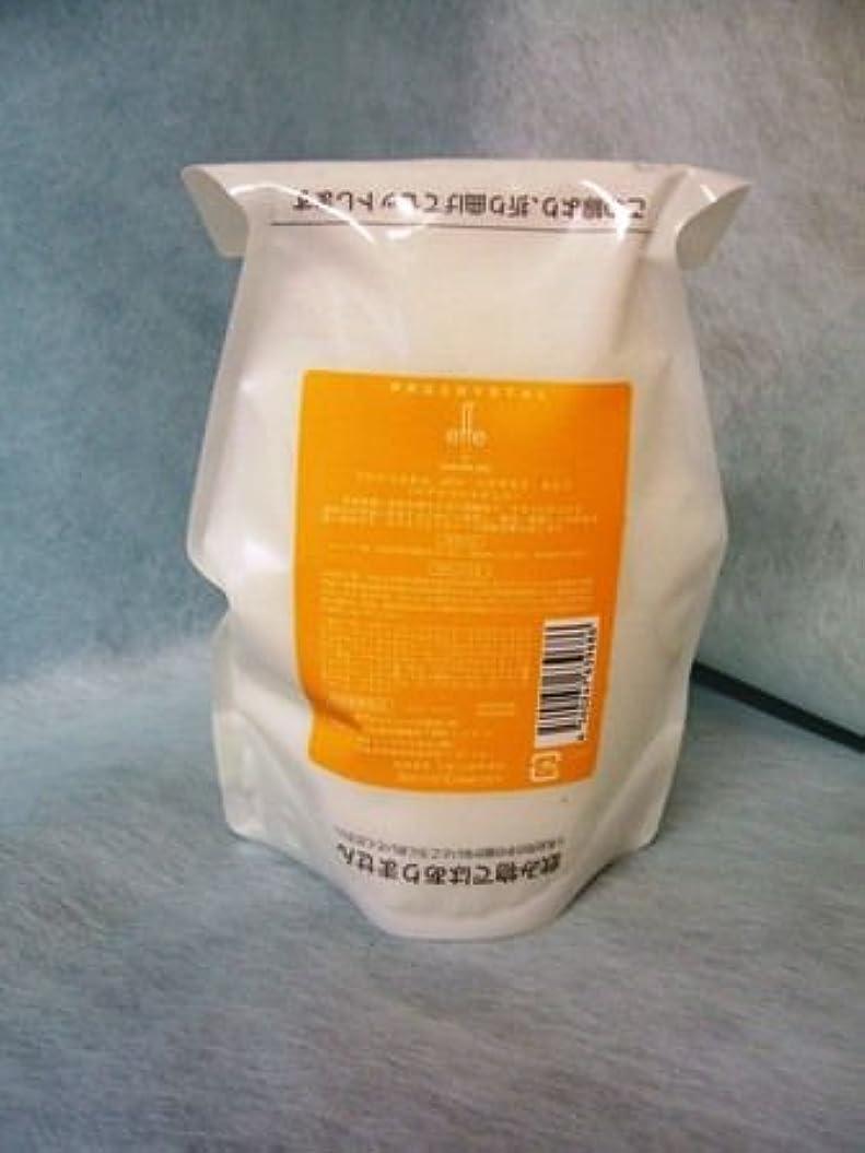 大陸予言するマカダムアペティート化粧品 プロクリスタル effe (エフ) ヘアマスク さらり500g(レフィル)