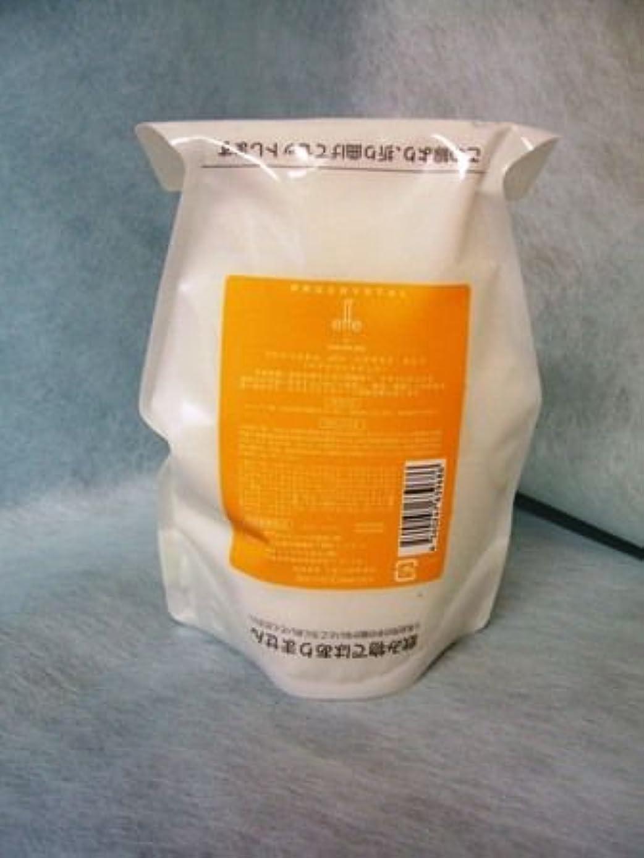 成果トランスペアレント光のアペティート化粧品 プロクリスタル effe (エフ) ヘアマスク さらり500g(レフィル)