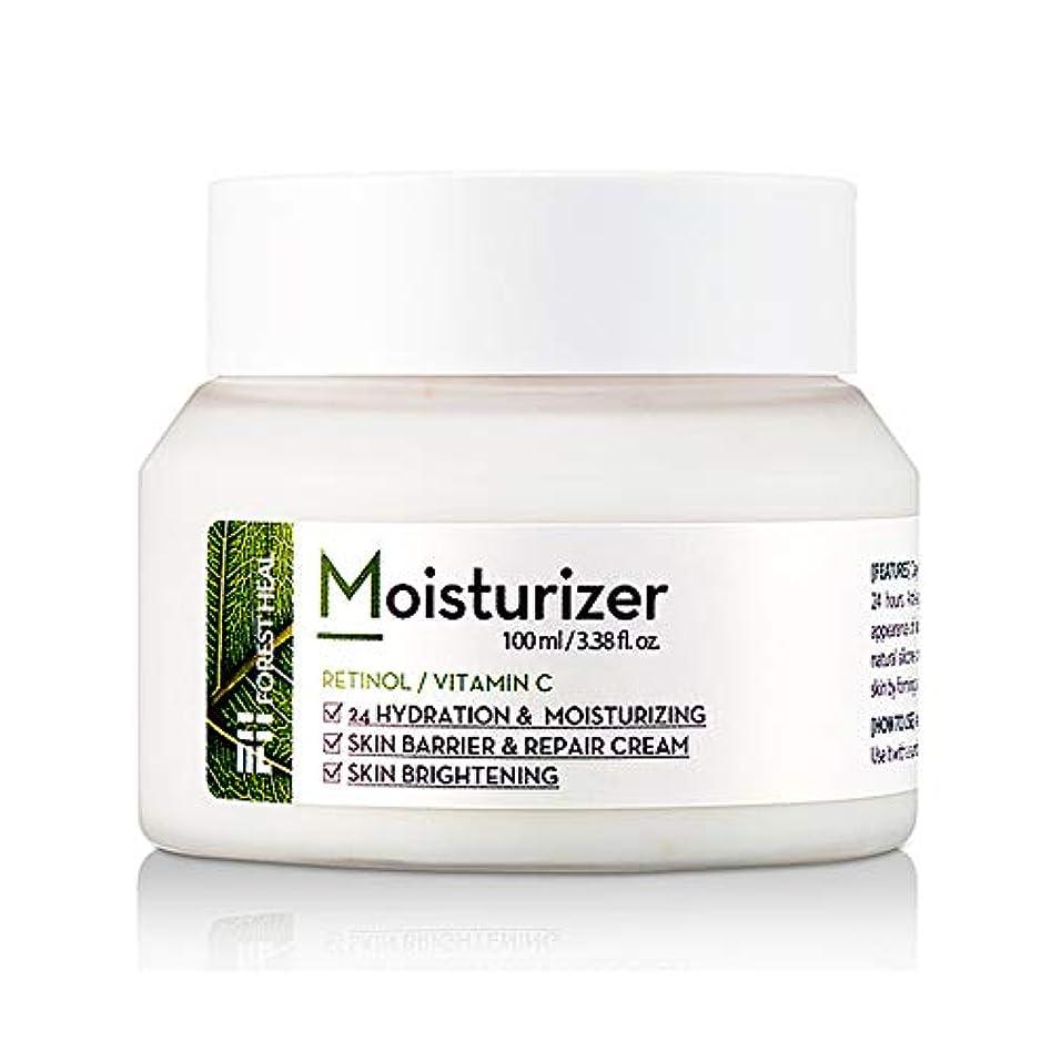 欺く不潔真実フォレストヒール モイストライザークリーム FOREST HEAL Moisturizer 乳液 クリーム 肌に優しい オーガニック すべすべ肌 トラブル肌 敏感肌 うるおい肌 水分ケア