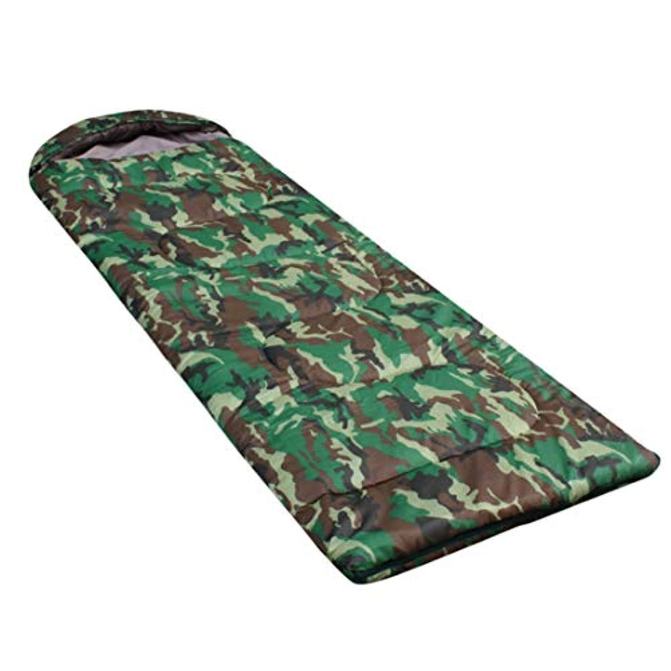 ロバ操るバックアップWanc キャンプ用 迷彩 寝袋