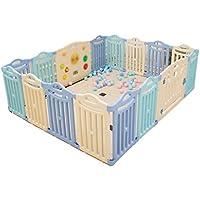 子供のフェンス、ベビーゲーム保護フェンスフェンス幼児のおもちゃのクロールステップバー屋内遊び場オーシャンボールプール42-80CM (色 : E)
