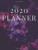 2020 Planner: Pretty Floral Planner for Woman, Girl, Wife, Fiancée, Bride, Girlfriend, Daughter, Mom, Mother, Mother in Law, Aunt, 8.5x11 in