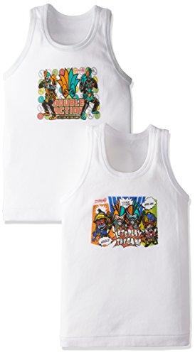 (バンダイ) BANDAI フライス袖なし丸首シャツ2枚組 仮面ライダーエグゼイド