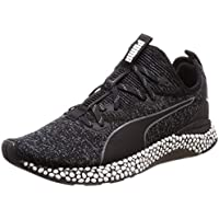 PUMA Men's Hybrid Runner Blk-Iron Gate Shoes, Black-Iron Gate