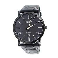 セイコー SEIKO プルミエ Premier クオーツ メンズ 腕時計 SKP401P1 ブラック[逆輸入品][t-1]
