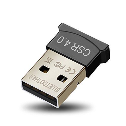 Bluetooth4.0 USBアダプタ Windows10 apt-X 対応 EDR/LE対応(省エネ)ワイヤレス ブルートゥース USBドングル Dongle CSR 無線USB 超小型