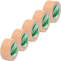 ニチバン 布テープ 50mm×25m 5巻パック LS29-5P 黄土