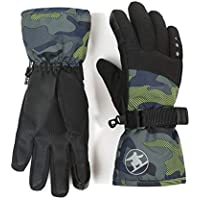 accsa Kid Boy Girl Cold Weather Waterproof Breathable 3M Thinsulate Thermal Lined Sports Ski Glove