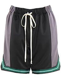 エピトミ ショーツ EPTM COLOR BLOCK BASKETBALL SHORTS EP8369 ブラック グレー メンズ ボトム ショートパンツ バスケットショーツ