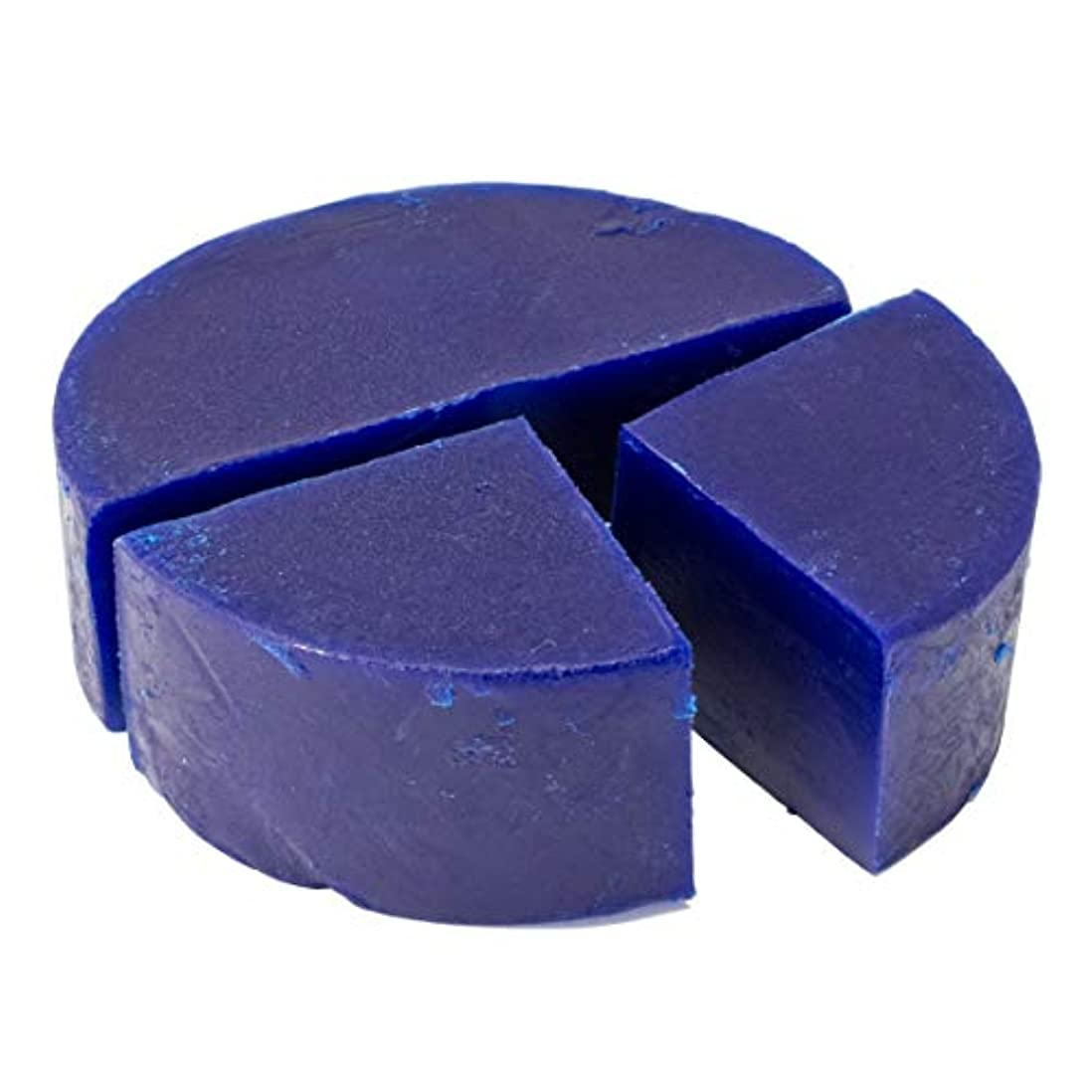 お別れファイアルアシュリータファーマングリセリン クリアソープ 色チップ 青 100g (MPソープ)