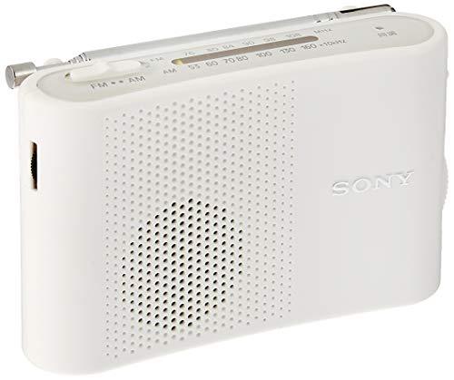 SONY FM/AMハンディーポータブルラジオ ホワイト I...