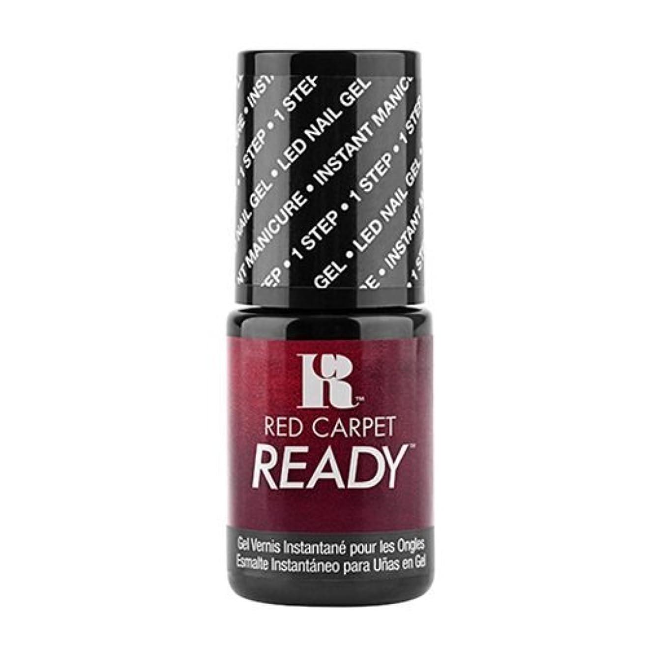 鉄道配分下に向けますRed Carpet Manicure - One Step LED Gel Polish - Big Screen Siren - 0.17oz / 5ml