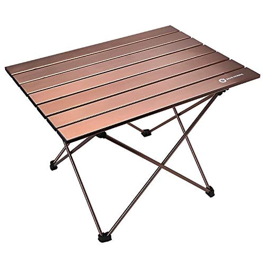 弁護人購入チラチラするErago ポータブル折りたたみ式プレミアムキャンプテーブル 軽量&バックパック ダイニング&クッキング ハイキング キャンプ ピクニック ビーチ アウトドアに最適