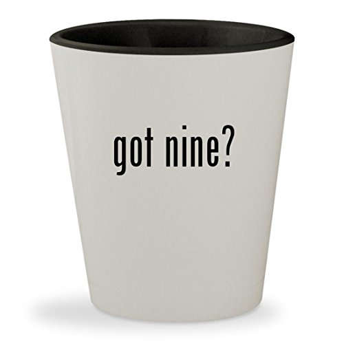 Got Nine ?–内側外側ホワイト&ブラックセラミッ...